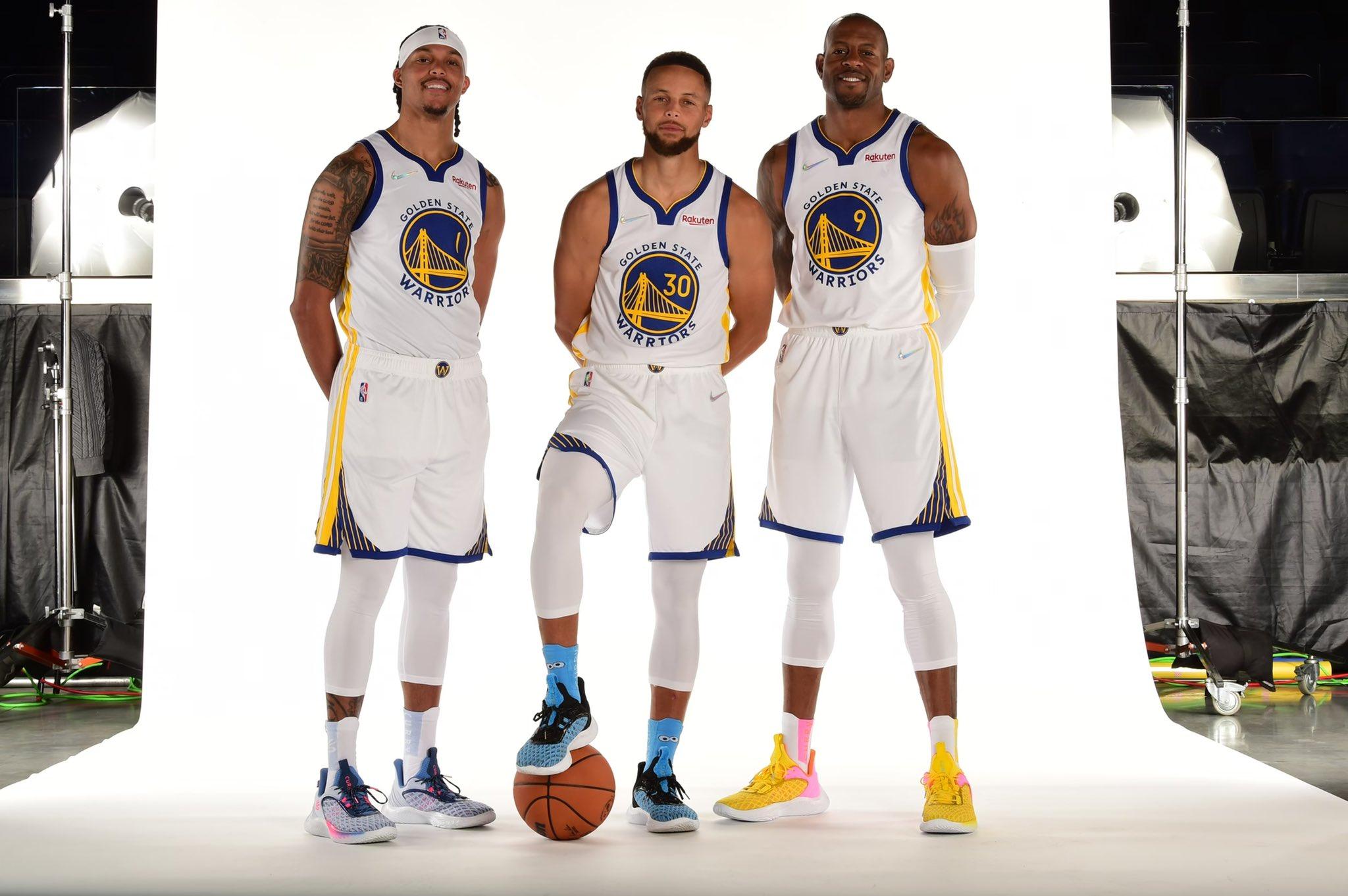 Golden State Warriors 2021 NBA Media Day highlights